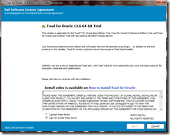 Installing Toad For Oracle in windows 7 (2/6)