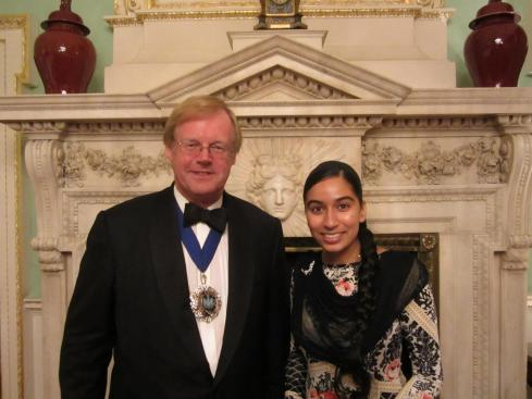 2011 - Mansion House - Dragon Awards - With Lord Mayor of London