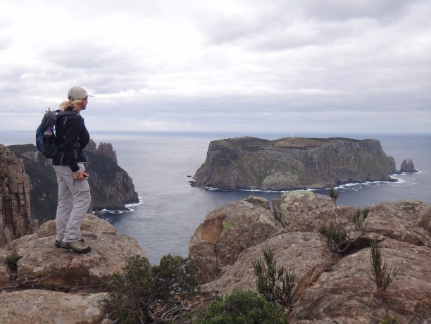 Photo of Pam Lynch in Tasmania