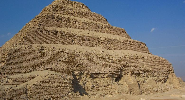 Kairo Rundreise Stufen Pyramide
