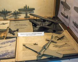 Maquettes allemandes en bois