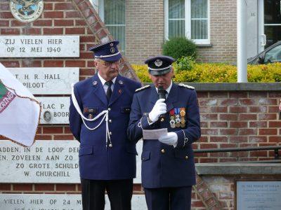 L'appel aux morts de 1940, Belge, Français et Anglais lors des attaques du canal Albert
