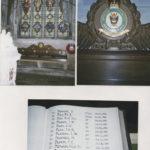 Dans une cathédrale proche de Cambridge les vitraux sont dédiés au bomber command, le nom de Dean est sur le livre où sont consignés tous les noms des aviateurs tombés au combat