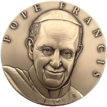 """Pope Francis Medal"", 2015, bronze"