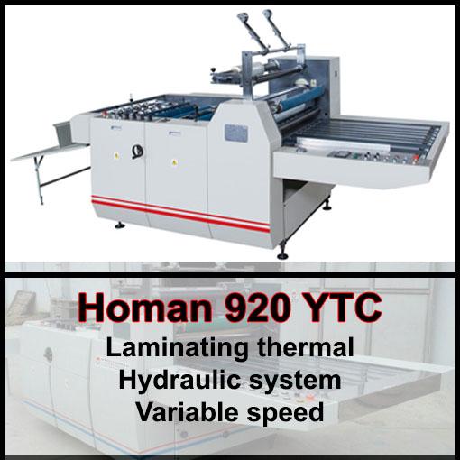 Promo Homan 920 YTC