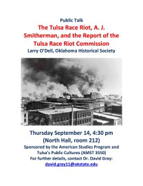 Larry O'Dell on The Tulsa Race Riot