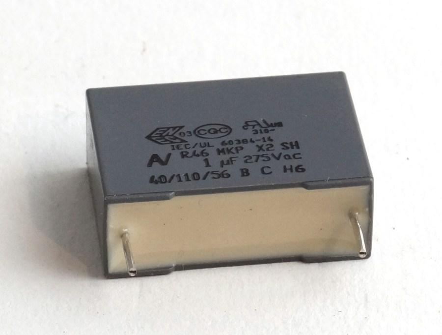 Condensateur 1uF pour gradateur DIGITOUR ROBERT JULIAT