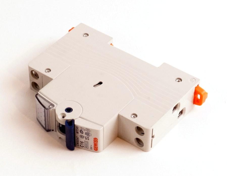 Disjoncteur C16 GEWISS GW90047 - MTC45