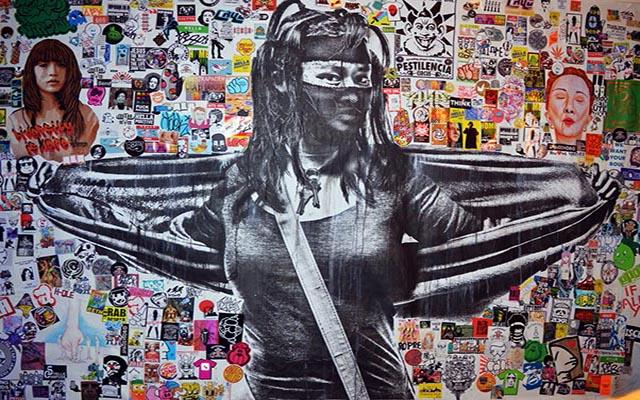Eddie Colla & Amsterdam Stickers Paris