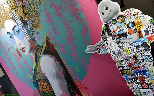 Fin Dak Art & Amsterdam Stickers Berlin