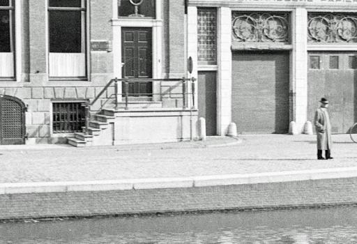 Grachtenfoto Amsterdam 1944