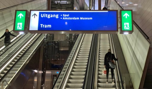 Metrostation Rokin