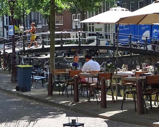 terras Brouwersgracht