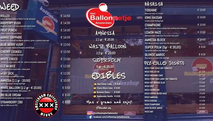 Het Ballonnetje coffeeshop