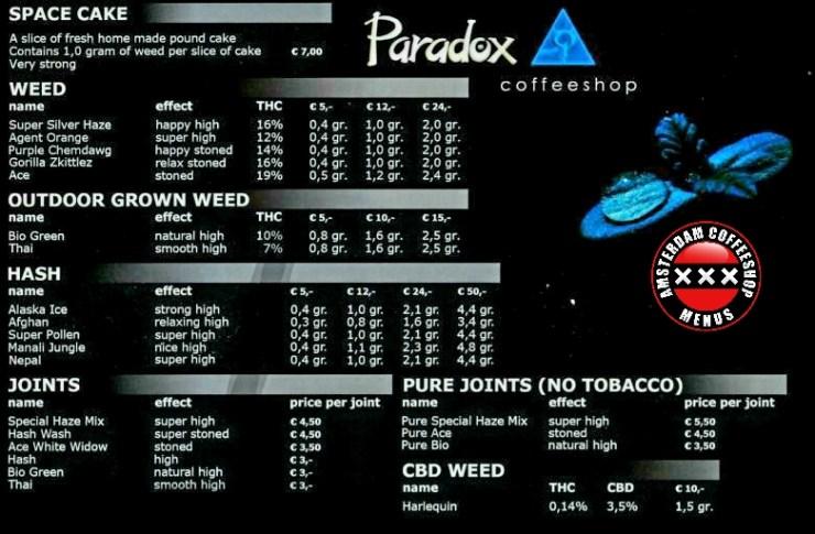 Coffeeshop Paradox