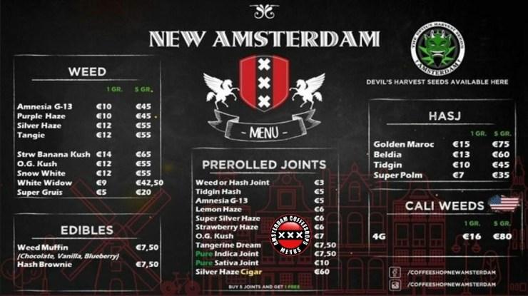 Coffeeshop New Amsterdam