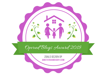 Banners for Opvoed Blogs Award 2018