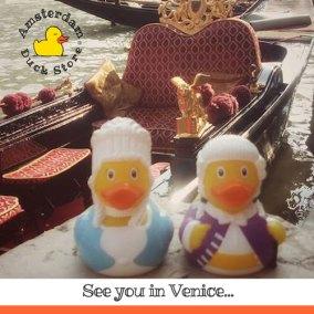 Meet the ducks in Venice Duck Store! Campo de Le Beccarie, San Polo 360/B