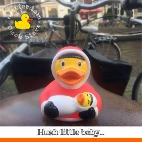 Eskimo rubber duck Herengracht Amsterdam Duck Store