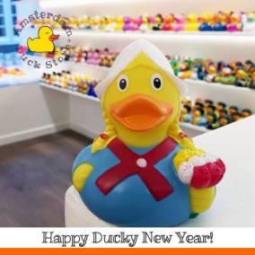 Happy ducky newyear Amsterdam Duck Store