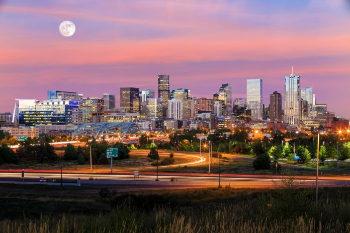 AmsterdamMarijuanaSeeds - Denver, Colorado Skyline