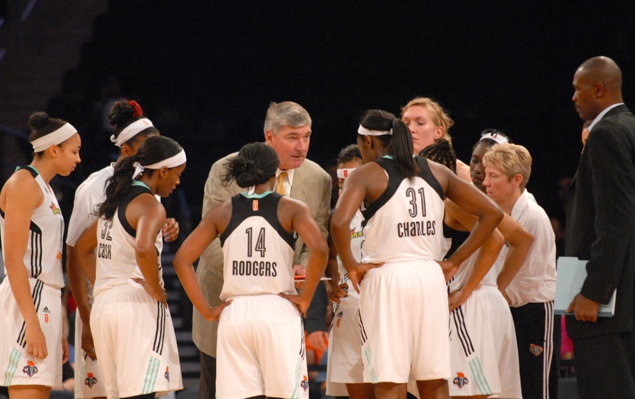 New York Liberty and coach Bill Laimbeer (146217)