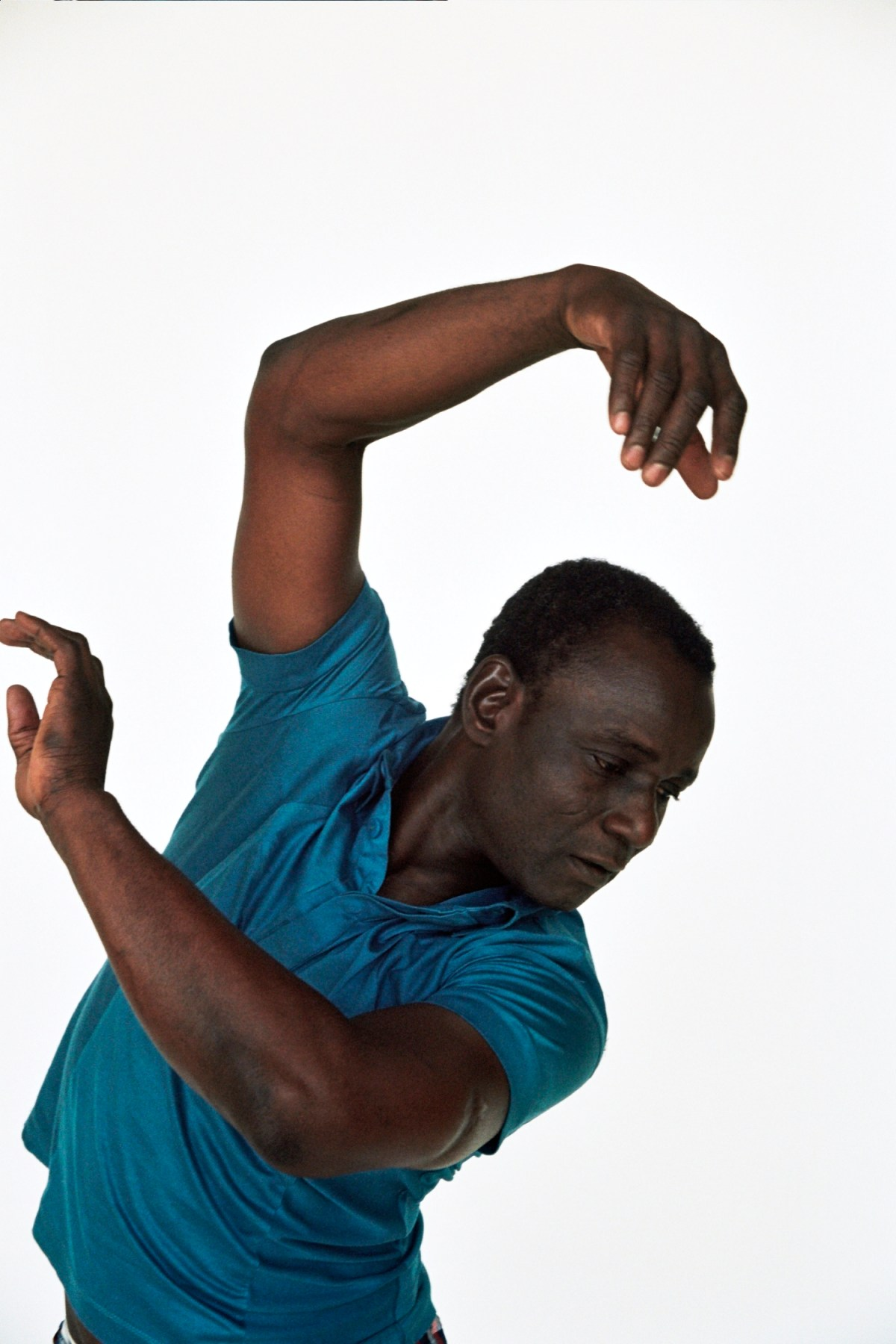 "Souleymane Badolo in the world premiere of ""Yimbegre."" (176189)"