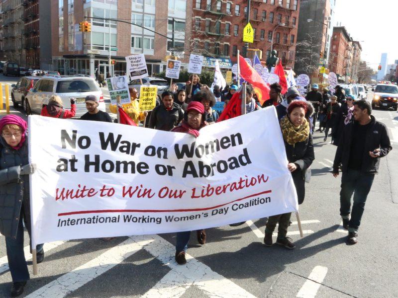 International Women's Day Coalition march. (192415)