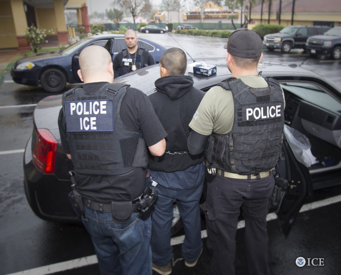 Foreign nationals were arrested during the week of February 6, 2017, during a targeted enforcement operation conducted by U.S. Immigration and Customs Enforcement (ICE) aimed at immigration fugitives, re-entrants and at-large criminal aliens. (232212)