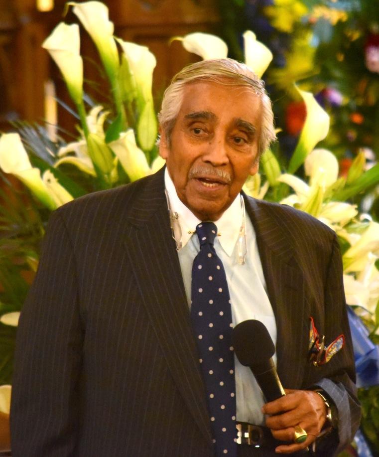 Charles Rangel speaks at Ramsey Funeral (278223)