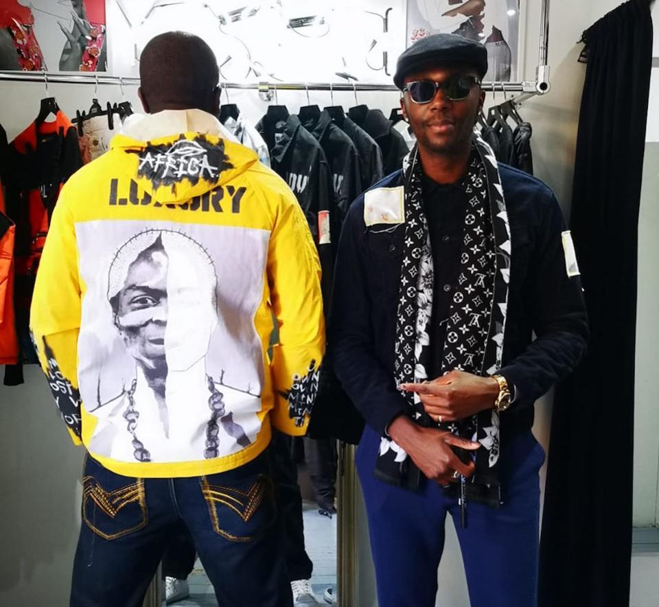 Men's jacket designs by Emmanuel Unail for London Fashion Week (289590)