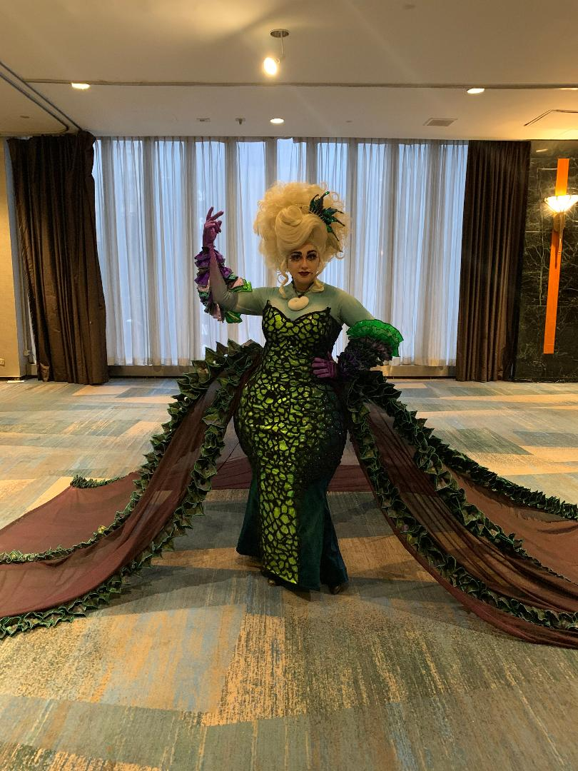 Ursula was in rare, detailed form at BroadwayCon 2020. (289631)
