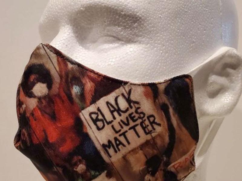 Black Lives Matter Mask by Ted Ellis (295256)