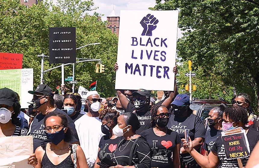Protest march/Black Lives Matter (300429)