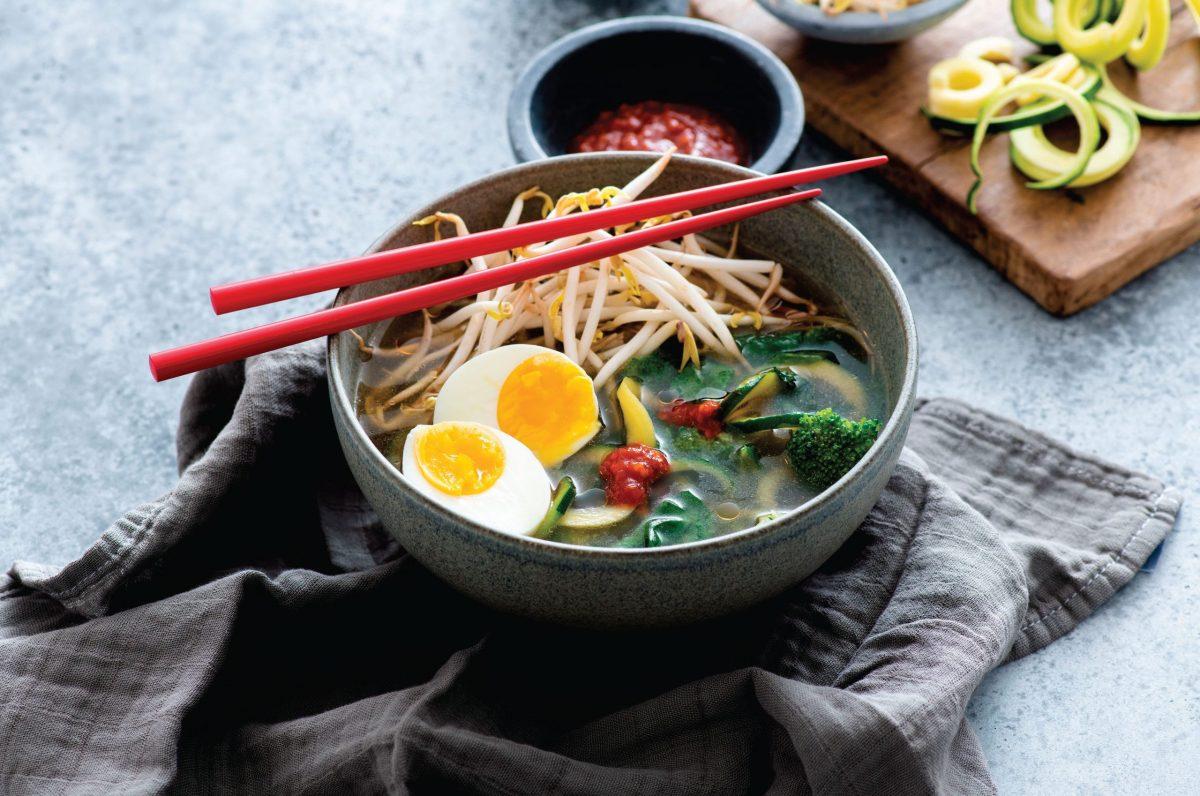 Vegetarian Ramen Zoodle Bowl (300836)