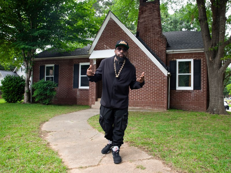 Big Boi/Fans of hip hop were treated to a weekend at the home where Outkast and Goodie Mob recorded their early work. (306497)