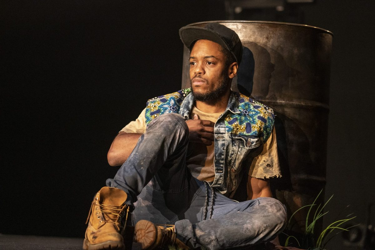 """Jon Michael Hill in """"Pass Over"""" on Broadway (308438)"""