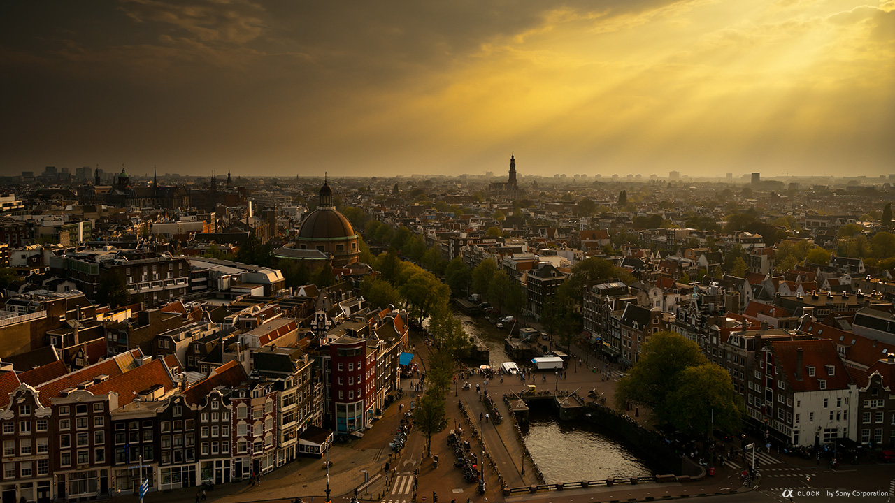 Amsterdam City Overview