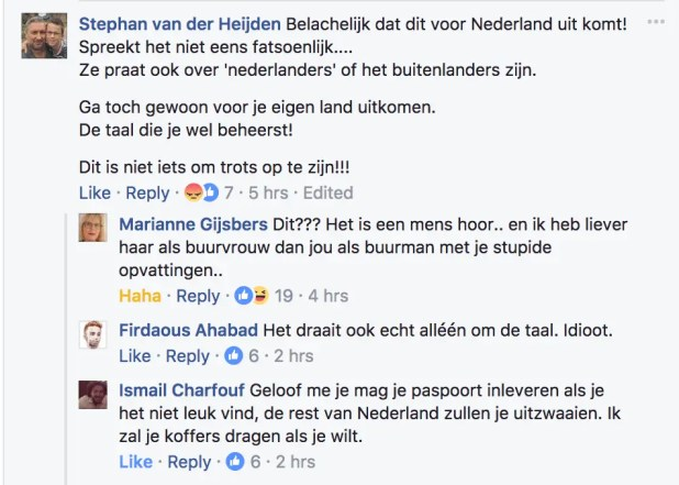 Sifan Hassan facing abuse for not being Dutch