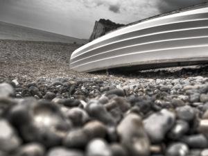 Upturrned Boat