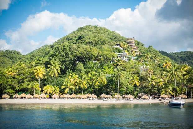 st Lucia Anse Chastanet