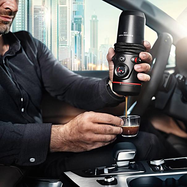 Mobiele espressomachine van Audi 3