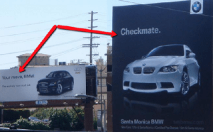 Advertising Audi vs BMW