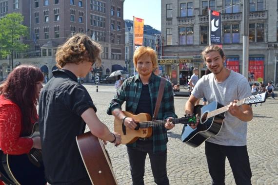 Edsheeranmetmuzikanten