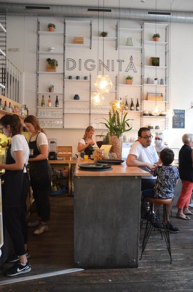 Interior Dignita Cafe Vondelpark Amsterdam