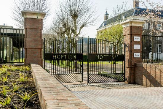 Gates to the Hoftuin Gardens