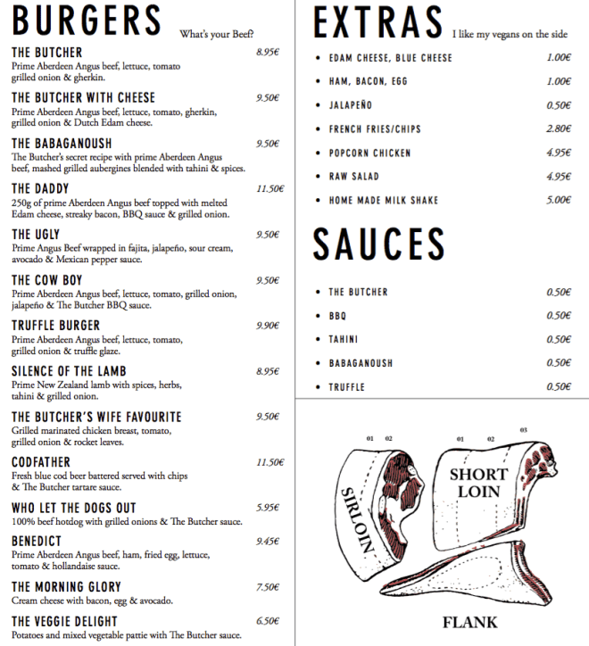 the_butcher_amsterdam_menu