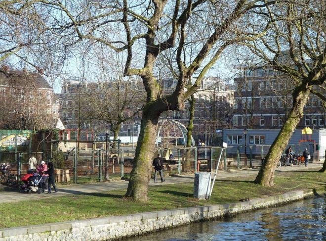 UjKlaren speeltuin (playground) in Amsterdam