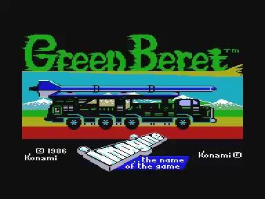 Green beret (partie complète)