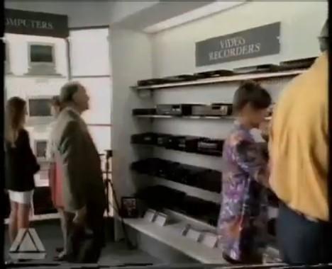 Magnetoscope Amstrad (1987) [Angleterre]
